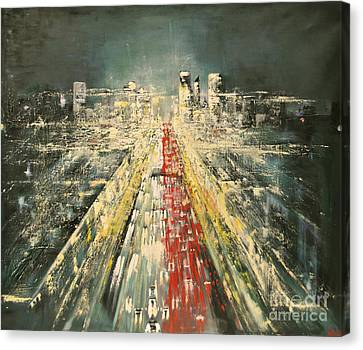 City Of Paris Canvas Print