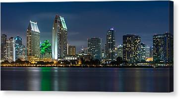 City Of San Diego Skyline 2 Canvas Print