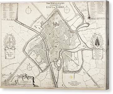 City Of York Canvas Print by British Library