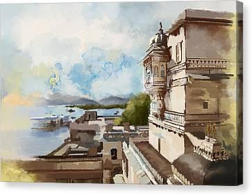 City Palace Canvas Print by Catf