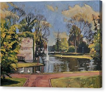 City Park Maastricht Canvas Print