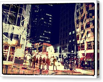 City People Canvas Print by Susan Stone