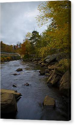 City River 2 Canvas Print by Julie Smith