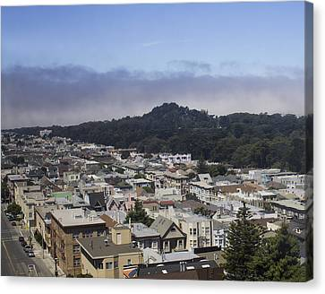 City Scape Canvas Print by Dee  Savage
