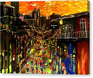 City Spectacular  New Orleans  Canvas Print by Mark Moore