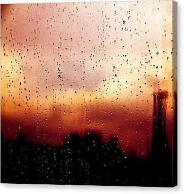City Window Canvas Print by Bob Orsillo