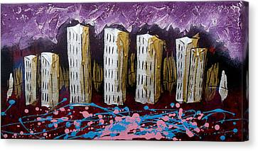 City's Leftovers Canvas Print by Nathan Wilson