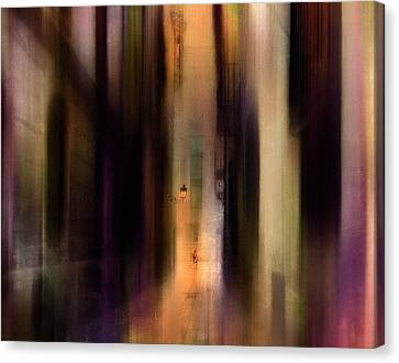 Cityscape (2) Canvas Print by Sol Marrades
