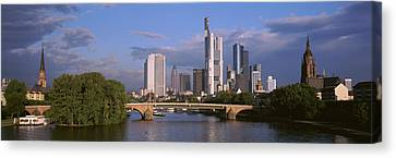 Historic Architecture Canvas Print - Cityscape, Alte Bridge, Rhine River by Panoramic Images