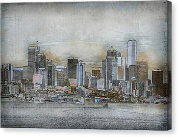 Cityscape Canvas Print by Davina Washington