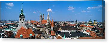Cityscape, Munich, Germany Canvas Print by Panoramic Images