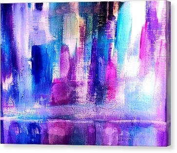 Cityscape Canvas Print by Nikki Dalton
