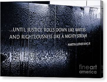 Civil Rights Memorial Canvas Print by Danny Hooks