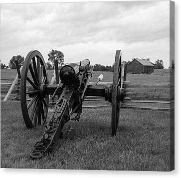 Civil War Cannon 5 Canvas Print by David Lester