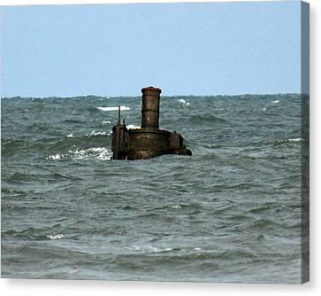 Civil War Shipwreck Canvas Print by Brian M Lumley