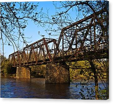 Civil War Trestle Canvas Print