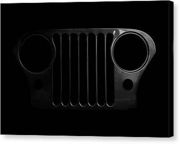 Cj Grille- Fade To Black Canvas Print