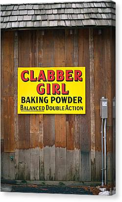 Clabber Girl Canvas Print