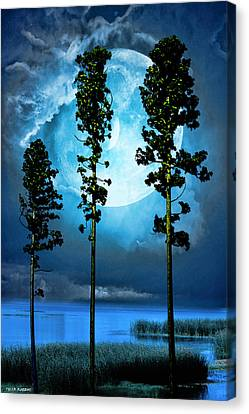 Clair De Lune Canvas Print
