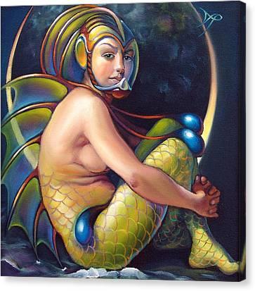 Claire De Lune Canvas Print by Patrick Anthony Pierson