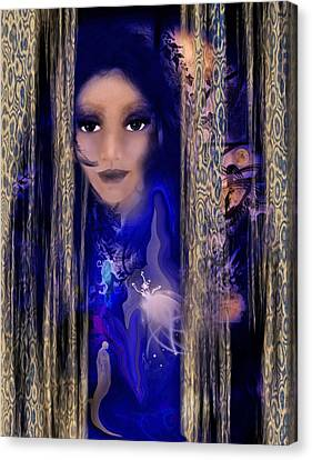 Clairvoyant Seven Canvas Print by Patricia Motley