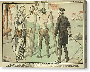 Clanricarde And Balfour Canvas Print by British Library