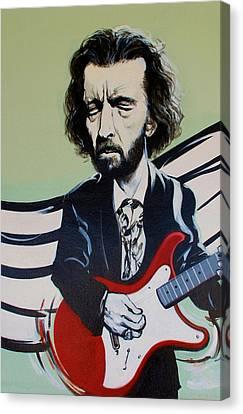 Clapton Canvas Print by Rob Hans