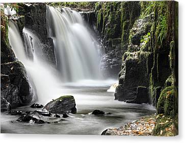 Clare Glens Waterfall Limerick Ireland Canvas Print by Pierre Leclerc Photography