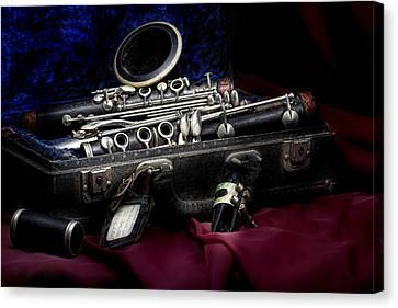 Clarinet Still Life Canvas Print by Tom Mc Nemar