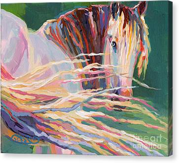 Clarisse Canvas Print by Kimberly Santini