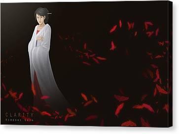 Clarity Ver.b Canvas Print by Hiroshi Shih