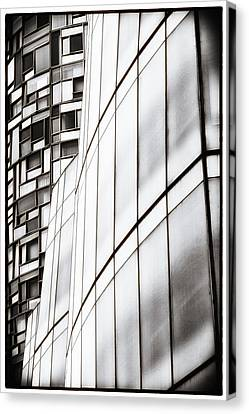 Class And Glass Canvas Print by Russell Styles