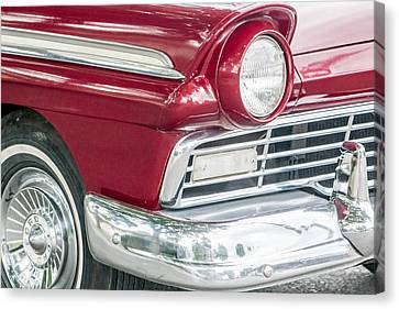 Canvas Print featuring the photograph Classic 50s Style by Dawn Romine