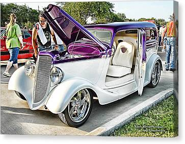 Canvas Print featuring the photograph Classic Auto   by Dyle   Warren