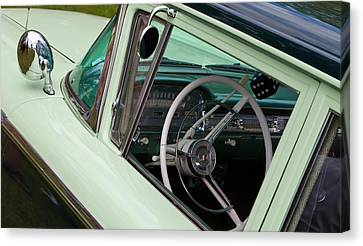 Classic Automobile Interior Canvas Print by Mick Flynn
