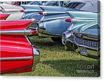 Classic Caddy Fin Party Canvas Print by Edward Fielding