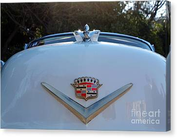 Classic Cadillac Badge Canvas Print by George Atsametakis