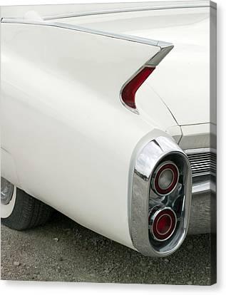 Classic Cadillac Fin Car Canvas Print by Carol Highsmith