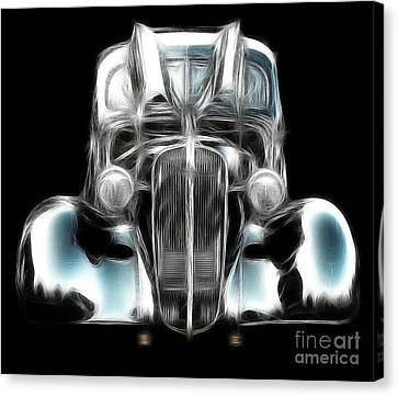 Canvas Print featuring the photograph Classic Car Abstract by JRP Photography