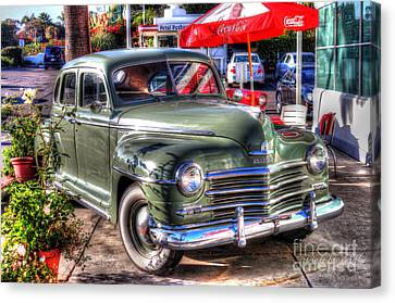Classic Car Canvas Print by Kevin Ashley