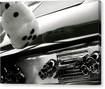 Classic Car Tunes Canvas Print