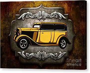 Classic Cars 06 Canvas Print by Bedros Awak
