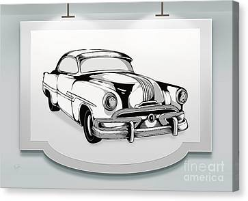 Classic Cars 07 Canvas Print by Bedros Awak