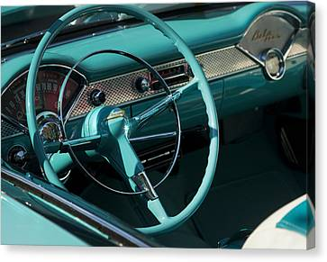 Classic Chevrolet Bel Air Canvas Print by Theresa Tahara