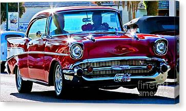 Classic Chevrolet Canvas Print by Tap On Photo