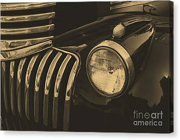 Canvas Print featuring the photograph Classic Chevy One by John S