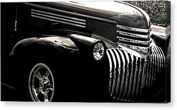 Classic Chevy Truck Canvas Print by Optical Playground By MP Ray