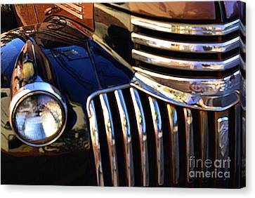 Canvas Print featuring the photograph Classic Chevy Two by John S