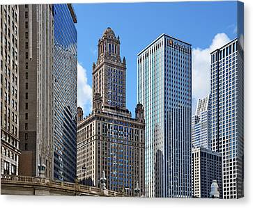 Cupola Canvas Print - Classic Chicago -  The Jewelers Building by Christine Till
