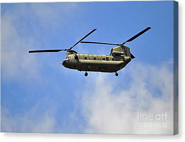 Classic Chinook Canvas Print by Al Powell Photography USA